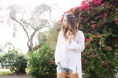 ZARA White Combination Poplin Studio Shirt