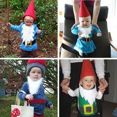 Costumes: All Gnomes All the Time garden gnome costume Baby Gnome Costume, Costume Hats, Baby Costumes, Teacher Halloween Costumes, Halloween Costume Contest, Halloween Party, Halloween 2019, Halloween Ideas, Tutu