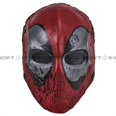 Dead Pool Army of Two Full Face Mask