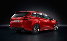 For those who do not have enough money to afford a Kia Cee'd GT, Koreans have an alternative. This is the GT Line package that gives the Cee'd a sporty look at an affordable price. Top 10 Sports Cars, Thing 1, Geneva Motor Show, Auto News, Sporty Look, Future Car, New Model, Line, Engineering