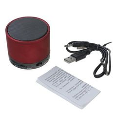 3W Mini Portable Bluetooth Metal Wireless speaker