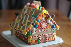 Ideas for Gingerbread House decorating.