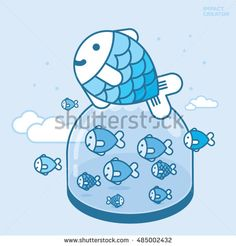 fish Fish Stock, Smurfs, Royalty Free Stock Photos, Snoopy, Illustration, Pictures, Fictional Characters, Image, Art
