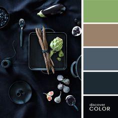 Натюрморт в черном цвете | DiscoverColor.ru