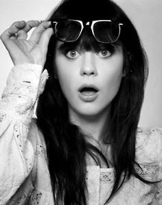 Zooey---what a doll.  Love her