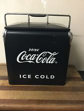 Vintage Reproduction COCA COLA Embossed PICNIC COOLER