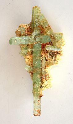 ❥ raw gemstone cross  Even the room rocks will cry out! For my cross wall :)
