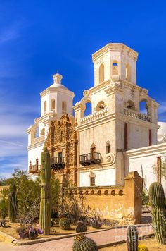 ✮ San Xavier Mission - Tucson, AZ, this beautiful mission was 10 minutes from one of my houses.