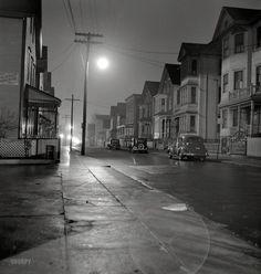 While the City Sleeps: 1940, New Bedford, MA, Jack Delano
