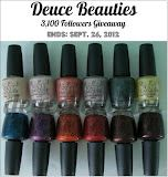 Deuce Beauties: Giveaway: 3,100 Followers feat OPI Germany Collection