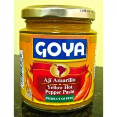 Aji Amarillo. This yellow hot pepper paste from Peru has a fruity kick! $4.49