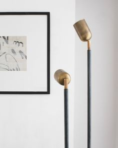 The Spot Floor Lamp (from $450), in two sizes and various finishes.