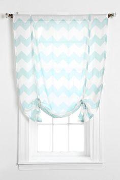 Zigzag Draped Shade Curtain #urbanoutfitters