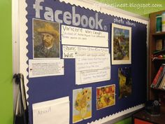 IDEA - Draw The Line At: Artist Facebook Page Bulletin Boards - Adapt for composers!