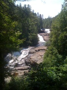 Triple Falls, DuPont Forest, NC (went here on a camp picnic as a kid, also where they filmed Last of the Mohicans and The Hunger Games)