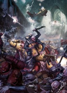 Genestealer cult goes on the attack with Howling Griffons - Warhammer Warhammer 40k Art, Warhammer Fantasy, World Of Fantasy, Sci Fi Fantasy, Military Art, Military History, The Black Library, The Horus Heresy, Tyranids
