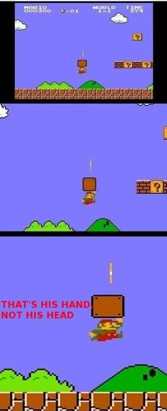 That's how Mario did it!