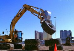 Drive your own bulldozer in Las Vegas!