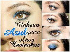 Maravilha: Maquiagem para olhos castanhos. Saiba Mais em http://dicasdemaquiagem.vlog.br/maquiagem-para-olhos-castanhos-9/