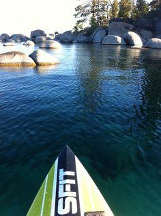 Zephyr Cove, Lake Tahoe. A fantastic art and paddle board retreat.