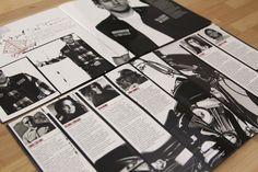 Sons of Anarchy Season 5 Press Kit #sonsofanarchy #SOA #FXNetworks #typography #lettering #handdrawn #design #diecut #emboss #blkmoonco #bmc