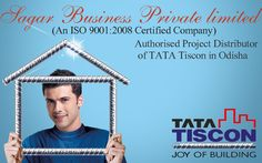 Sagar Business Private limited is Authorised Project Distributor of TATA Tiscon in Odisha.SBPL proposes to be a highly acclaimed name in the business of world-class steels and steel products like TMT Reinforcement Bars. For more info visit here
