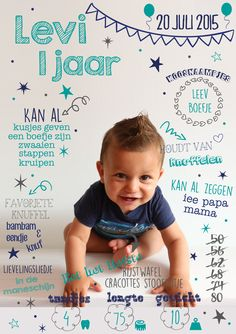 uitnodiging eerste verjaardag origineel foto aandenken cadeau krijtperk First Birthday Photos, Birthday Pictures, Baby Birthday, First Birthday Parties, First Birthdays, Baby Infographic, Best Baby Blankets, Vogue Kids, 1st Birthday Invitations