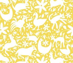 #mexican #fabric #yellow