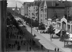 Big Town, Helsinki, Old Photos, Maine, Black And White, Memories, Times, Historia, Finland