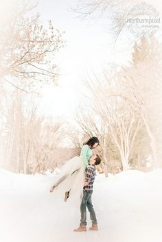 Winter Ballet Engagement by Dan Stanyer (Northern Pixel), via Flickr