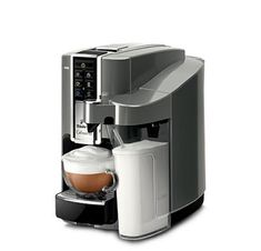 ´´Cafissimo LATTE Argento´´: Category: Haushalt > Kleingeräte > Kaffee & Espresso > Filterkaffeemaschi Item number: 1296646526 Vendor:… Latte Macchiato, Latte Art, Drip Coffee Maker, Popcorn Maker, Espresso Machine, Nespresso, Kitchen Appliances, Shopping, Design