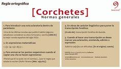 Karacteres | Corchetes