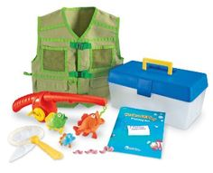 Learning Resources Pretend & Play Fishing Set Learning Resources Pretend and Play Fishing Set Its time to reel in the big one! Pretend and Play Fishing Set Toys For Boys, Kids Toys, Baby Toys, Children Games, 3 Boys, Baby Play, Toddler Boys, Thing 1, Dramatic Play