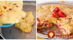 Pripavíte ho skôr, ako skončí reklama: 5-minútový jahodový koláč pre začiatočníkov!