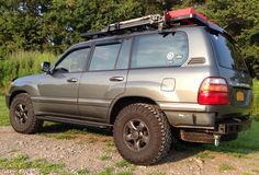Land Cruiser 100 ready for some off road 100 Series Landcruiser, Landcruiser 100, Suv Trucks, Toyota Trucks, Toyota Land Cruiser 100, Toyota Lc, Lexus Lx470, Off Road Camper, Nissan Patrol