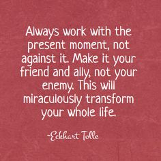 The wisdom of Eckhart Tolle - Miraculous transformation