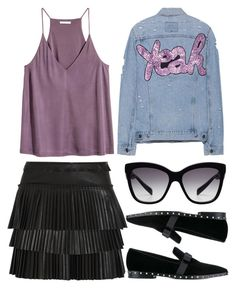 """""""Yeah"""" by fridaeklof ❤ liked on Polyvore featuring Forte Couture, Isabel Marant, Dolce&Gabbana and Valentino"""