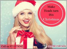 Make heads turn this #Christmas. Get Flawless Skin with the right consultation from Brand Achiever Award Winner of Best Dermatologist in Delhi/NCR - Dr. Gaurav Nakra. Call us on 9711374342 or visit www.centreforskin.com for more information. #merrychristmas #holiday #skin #beautiful #drgauravnakra #centreforskin