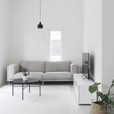 Home Design Living Room, Living Room Modern, Living Room Decor, Minimalist Home Interior, Interior Modern, Interior Design, Modern Room Decor, Home And Deco, Monochrome Interior