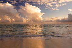 Karib-part reggel