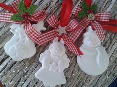 gessetti natalizi profumati realizzati con polvere di ceramica- handmade by IlCassettodeiSogni http://m.facebook.com/Il-Cassetto-dei-Sogni-1890162974542736/