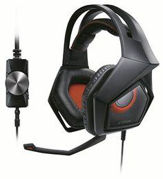 Asus présente le casque gaming Strix Pro - Ce nouveau casque gaming dispose de transducteurs avec aimant en néodyme de 60 mm, réduit 90% des bruits environnants et fonctionne sur PC, Mac, PlayStation 4, tablettes et smartphones.