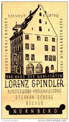 Original-Werbung/ Anzeige 1927 - KUNSTGEWERBE / FRAUENKLEIDUNG / STEPHAN SCHUHE - SPINDLER - NÜRNBERG - ca. 60 x 110 mm