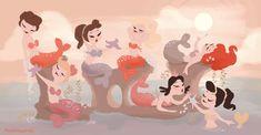 Blair Mermaids by ~matthewhoworth