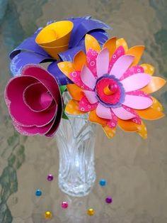 Fun paper flowers