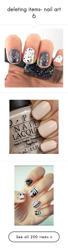 """deleting items- nail art 6"" by leonapayne ❤ liked on Polyvore featuring beauty products, nail care, nail polish, nails, makeup, beauty, unhas, yellow nail polish, grey nail polish and gunmetal nail polish"
