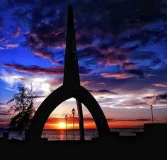 """""""Monumento+Sol"""" @ Piñones, Loiza Puerto Rico  by Pedro Ruidiaz"""