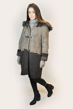 SHOP NOW! Sheepskin Coat, Shop Now, Brown, Shopping, Collection, Fashion, Moda, Shearling Coat, La Mode