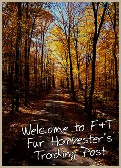 Welcome to F Fur Harvester's Trading Post