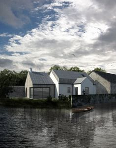 Louise Sliney Architects MRIAI  Cork   Kinsale House Designs Ireland, Cottage Plan, Cottage Ideas, Zinc Roof, Building Extension, Two Storey House, Rural House, Timber Cladding, Modern House Design